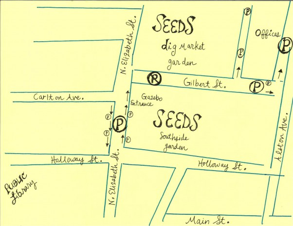 SEEDS Parking Map
