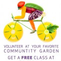 Volunteer at SEEDS = Free Class at SYNCStudio