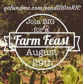 DIG Go Fund Me Farm Feast