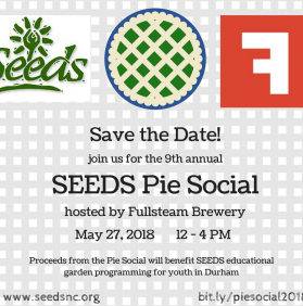 9th Annual SEEDS Pie Social