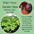 Start Your Garden Sale!